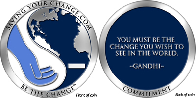 Saving Your Change Limited Edition Silver Coin